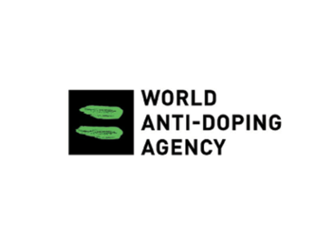 The World Anti-Doping Agency logo