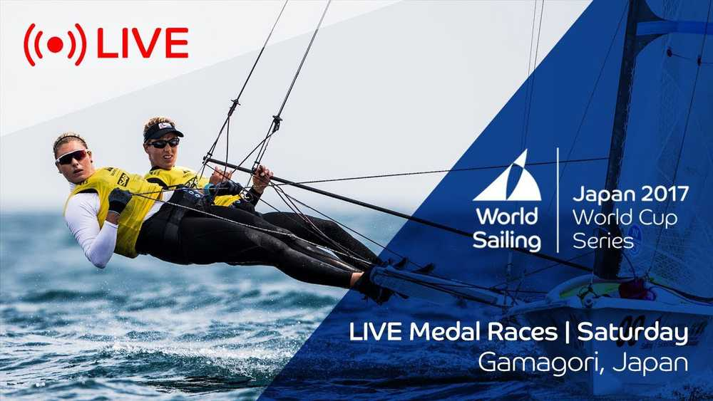 LIVE Sailing | World Cup Series Gamagori | Medal Races | Saturday October 21