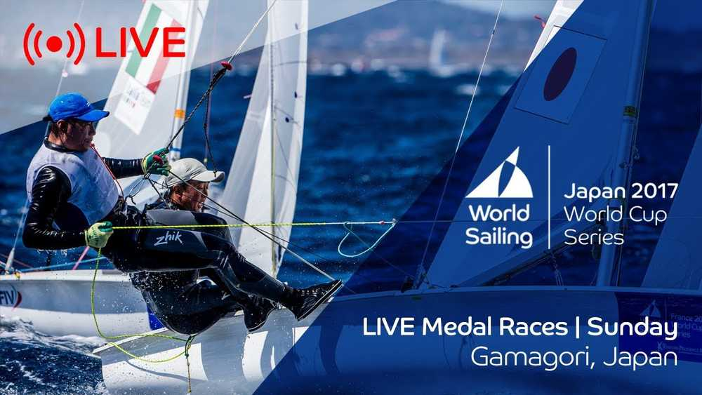 LIVE Sailing | World Cup Series Gamagori | Medal Races | Sunday October 22