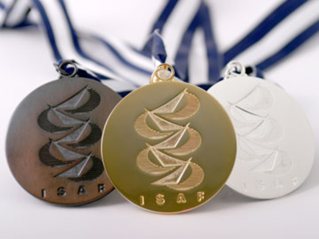 The ISAF Women's Match Racing World Championship medals