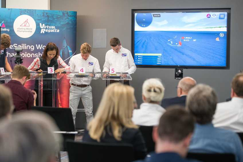 eSailing World Championship Launch