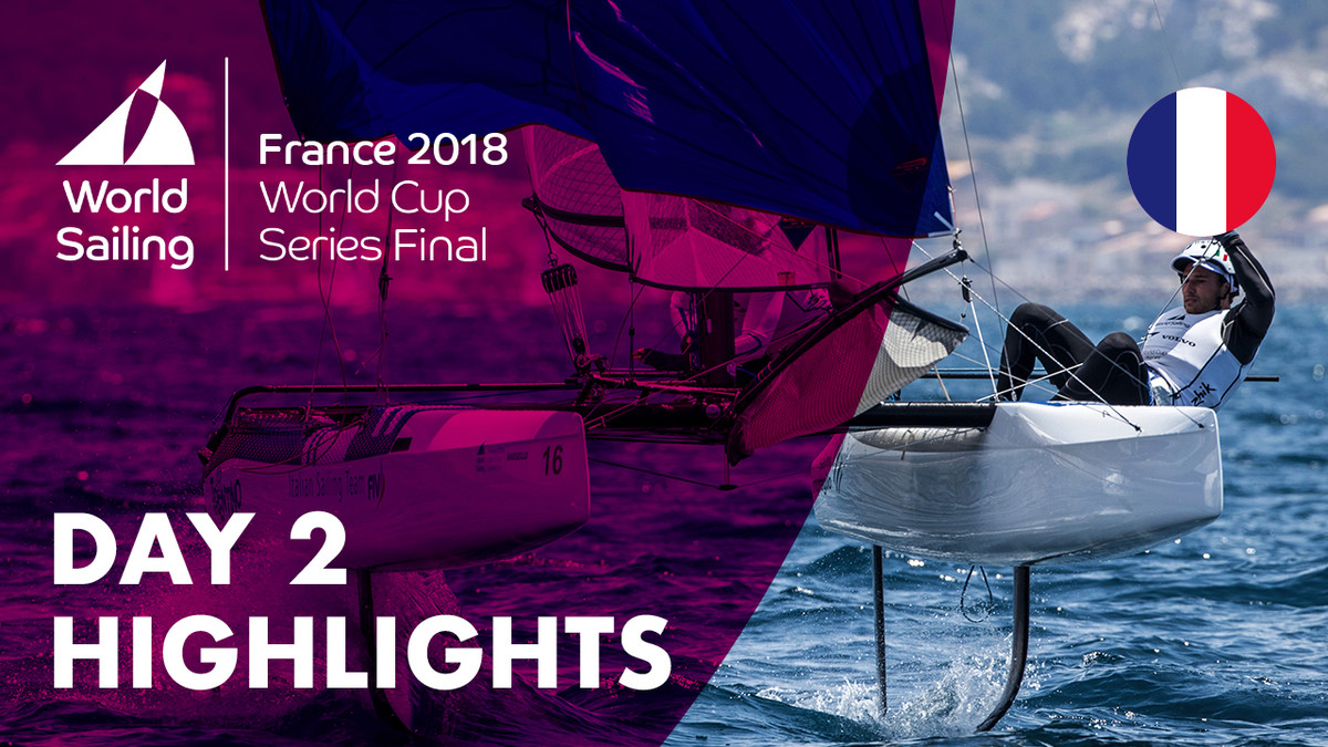 Day 2 Highlights - Sailing's World Cup Series Final | Marseille, France 2018