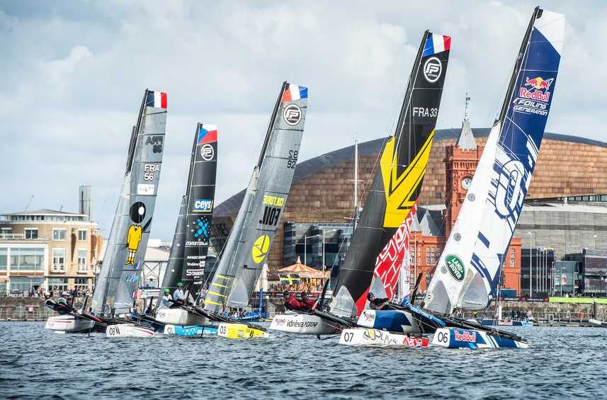 Alinghi climbs the ranks on second day of Cardiff Act