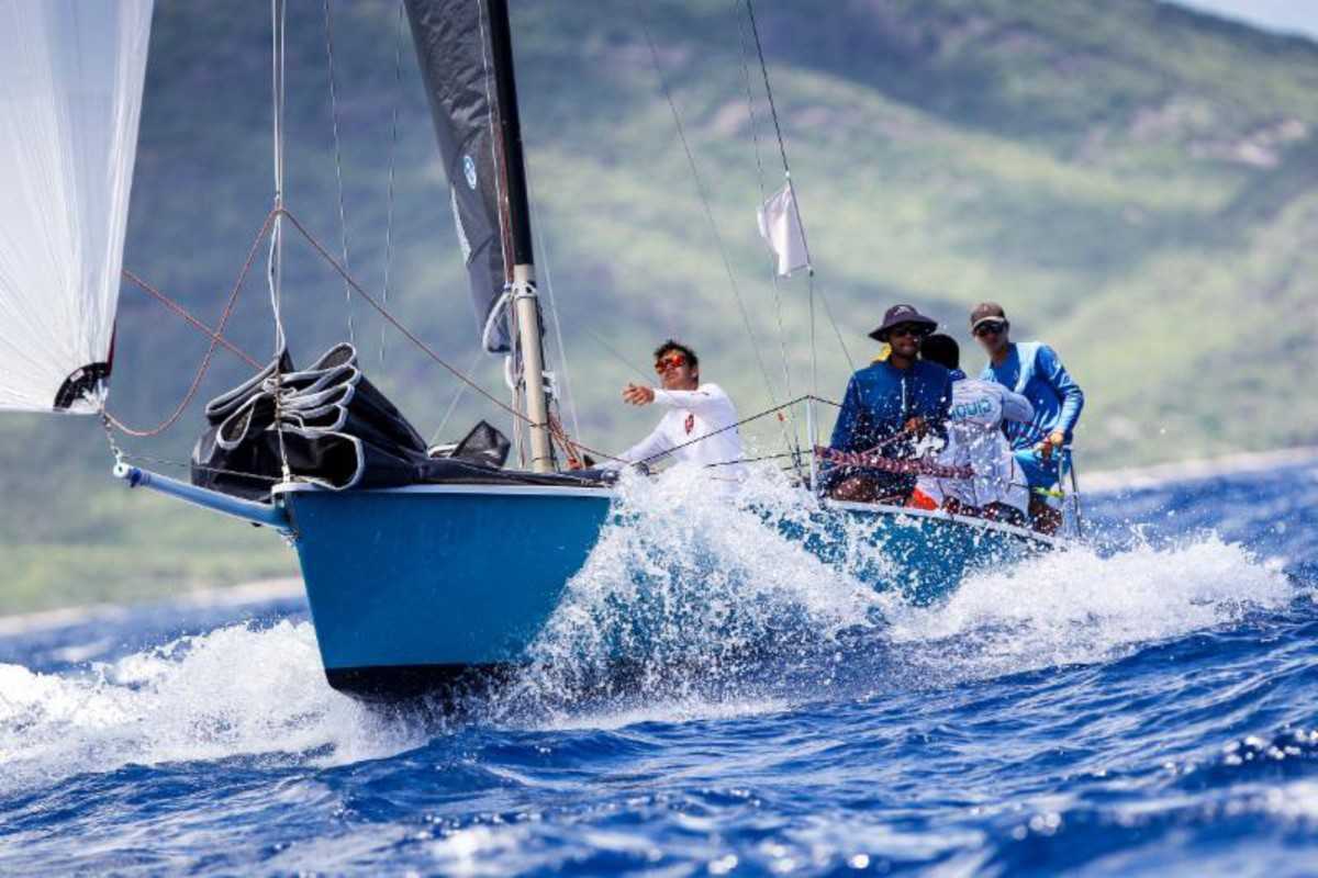 Antigua Sailing Week inspiring youth