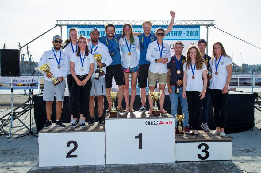 Slovenia and Sweden wrap up 470 European Championship crowns