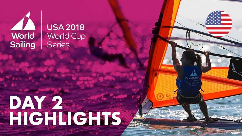 Day 2 Highlights - Sailing's World Cup Series | Miami, USA 2018