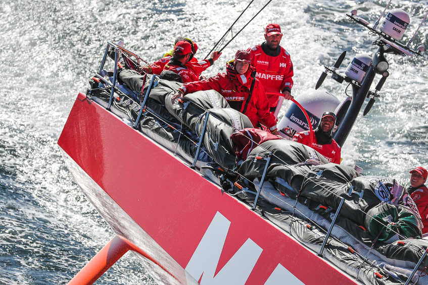 MAPFRE win epic Leg 2 of the Volvo Ocean Race