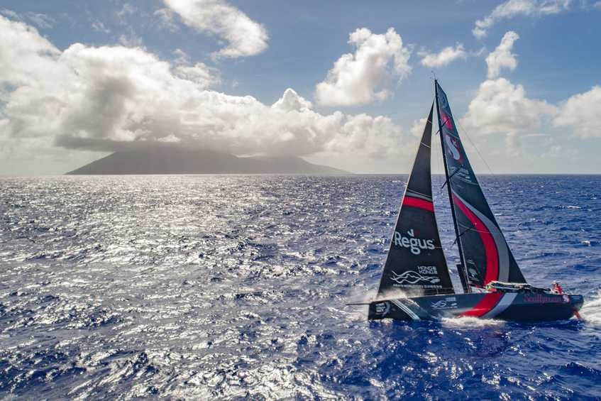 Match racing south - Volvo Ocean Race