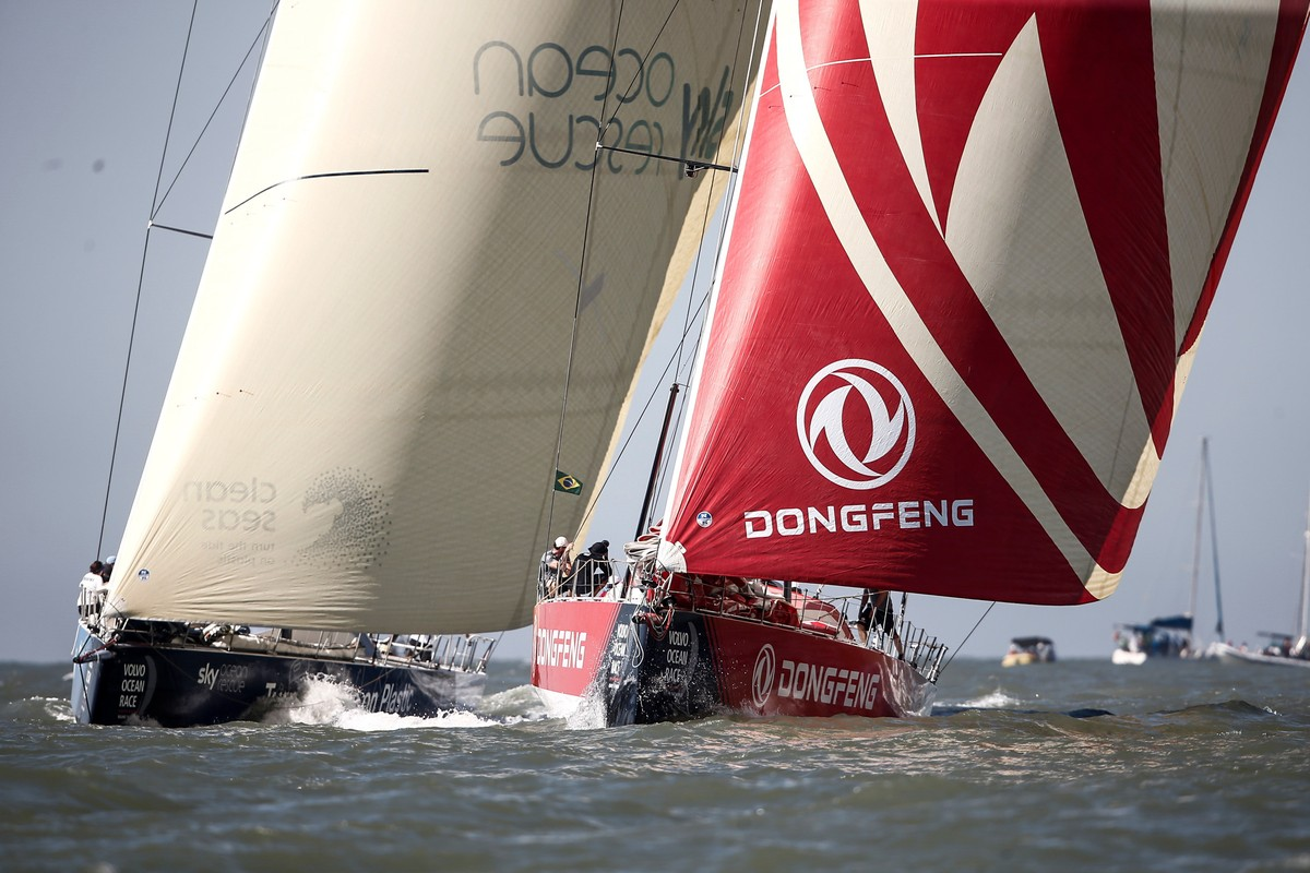Full line up will take the start for Leg 8 race to Newport