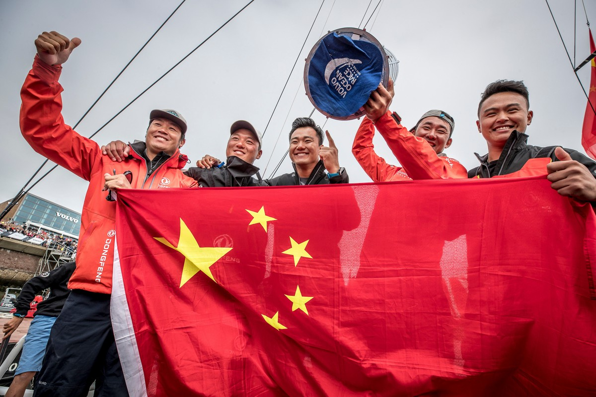 Dongfeng Race Team win the Volvo Ocean Race with late pass on final day