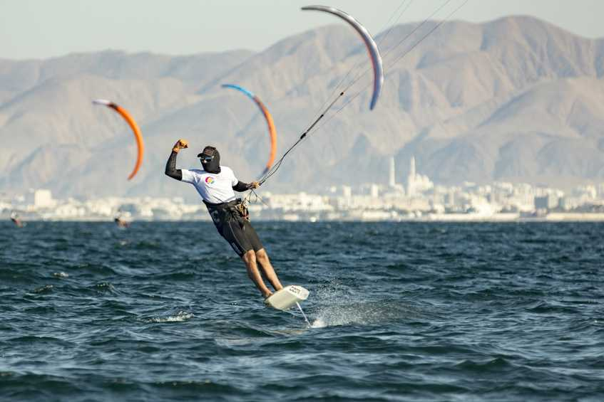 France's Nico Parlier asserts dominance at Formula Kite Worlds in Oman