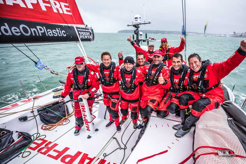 Mapfre set the Volvo Ocean Race bar with overall Leg Zero victory