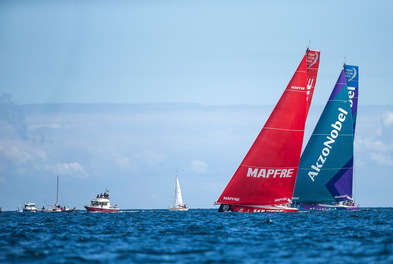 Mapfre continue Leg Zero dominance in opening act of final stage