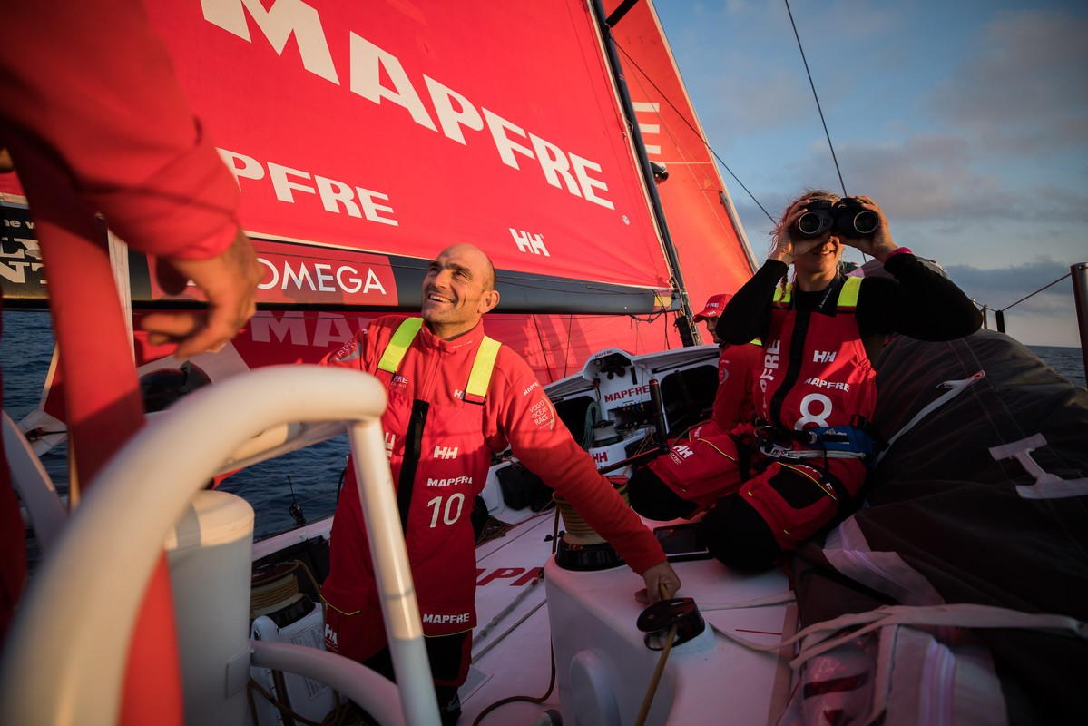 MAPFRE and Team Brunel lead the charge to Alicante