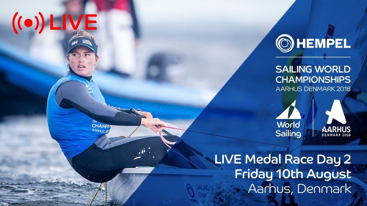 LIVE Sailing | Hempel Sailing World Championships | Medal Race Day 2