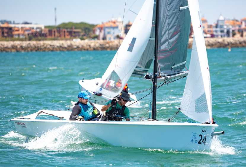 Medal contenders make gains on Day 3 of the 2019 Para World Sailing Championships